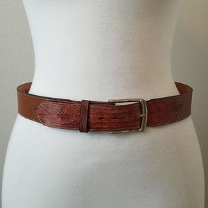 Tony Lama Genuine Lizard Belt